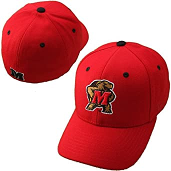 Zephyr Maryland Terrapins DHS Fitted Hat by Zephyr