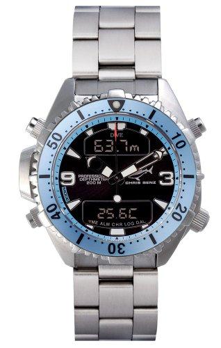 Chris Benz Depthmeter Digital CB-D200-H-MB Mens Chronograph Diving Computer