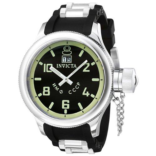 Invicta Men's 4342 Russian Diver Collection Black Watch