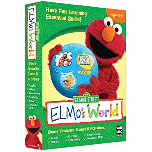 Sesame Street Elmo's World (PC CD)