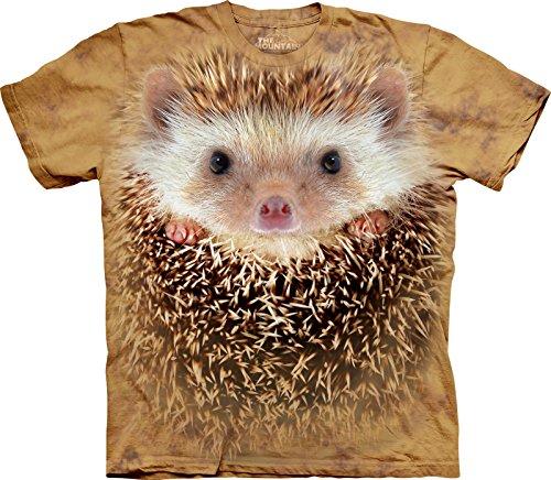T-shirt unisex The Mountain con grande faccia riccio bambino medium animali