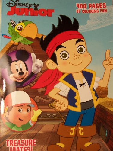 Disney Junior 400 Page Coloring and Activity Book ~ Treasure Mates! (2013)
