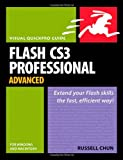 img - for Flash CS3 Professional Advanced for Windows and Macintosh: Visual QuickPro Guide book / textbook / text book