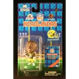 ROBERT BROOKS / GREEN BAY PACKERS * 3 INCH * 1997 NFL Headliners Football Collector Figure ~ Headliners