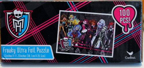 Monster High Freaky Ultra Foil Puzzle