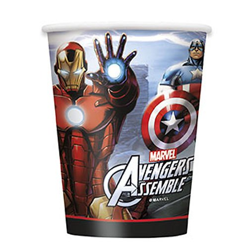 Marvel's Avengers 9 oz Cups [8 Per Package] - 1