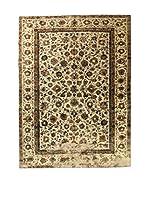 CarpeTrade Alfombra Deluxe Persian Vintage (Beige/Marrón)