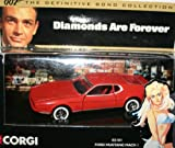 Corgi james bond 007 the definitive bond collection diamonds are forever ford mustang mach 1 car 1.36 scale diecast model