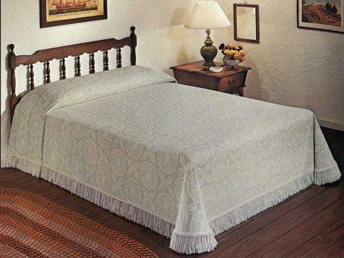 Maine Heritage Weavers 7789-K-013 Heritage Matelasse Bedspread