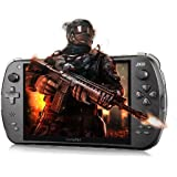 JXD S7800B Table PC Game Handheld Console-1.6GHz Quad Core 2GB RAM 7 Inch IPS 1280x800 Screen 12 Simulators Double Joysticks 3 Axis Gravity Sensor HDMI OTG -Support lots of Games Black