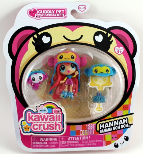 Kawaii Crush Hannah Banana Nom Nom Cuddly Pet Collection - Import It All ceaa5db65