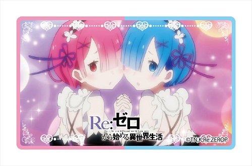 Re:ゼロから始める異世界生活 レム・ラム ICカードステッカー
