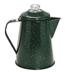 Cinsa 311337 Camp Ware Coffee Pot with Percolator, 2-Quart, Green Tundra made by Cinsa Kitchen