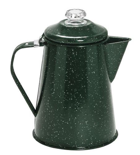 Camping Coffee Maker Percolator : Cinsa 311337 Camp Ware Coffee Pot with Percolator 2 Quart Green Tundra eBay