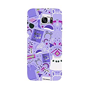 Phone Candy Designer Back Cover with direct 3D sublimation printing for Samsung Galaxy S7 Edge