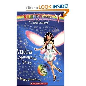 India: The Moonstone Fairy (Rainbow Magic: The Jewel Fairies, No. 1) Daisy Meadows