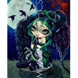 """Perched and Sat and Nothing More by Jasmine Becket-Griffith 10""""x8"""" Art Print Poster by Bruce McGaw"""