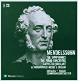 Mendelssohn: Symphonies Nos. 1 - 5, Piano Concertos 1 & 2, Capriccio Brillant, Midsummer Night'S Dream