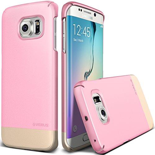 Galaxy S6 Edge Case, Verus [2Link][Sugar Pink] - [Non Slip][Minimalistic][Slim Fit] - For Samsung SM-G925 Devices