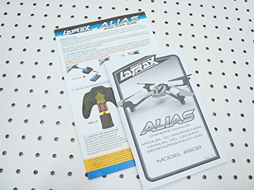 LaTrax Alias Quadcopter 24ghz Owners Manual Quick Start Guide