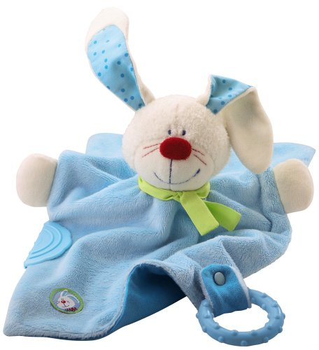 Haba Cuddly Bunny Hugo Teether Toy