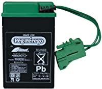 Peg Perego 6 Volt Replacement Battery for Peg Perego Vehicles from Peg Perego