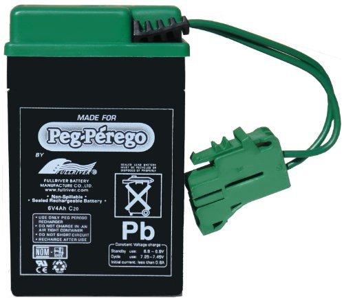 Peg Perego 6 Volt Replacement Battery For Peg Perego Vehicles front-1063513