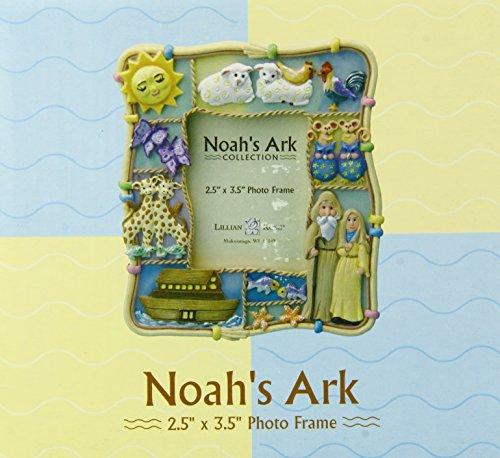 """Lillian Rose Noah's Ark Resin Photo Frame, 2.5"""" x 3.5"""" - 1"""