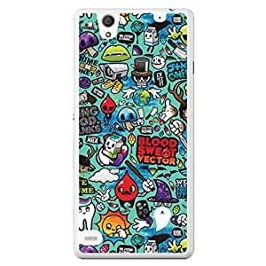 a AND b Designer Printed Mobile Back Cover / Back Case For Sony Xperia C4 (SONY_C4_2715)