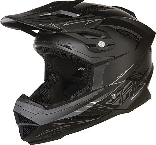 Fly Racing Youth Default Bmx Helmet - Matte Black / Large front-1020512