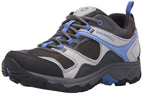 Merrell Women's Kimsey Waterproof Hiking Shoe, Charcoal, 10.5 M US