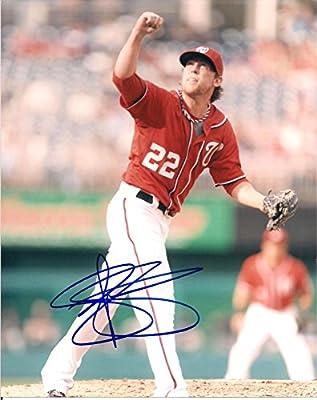 Drew Storen Washington Nationals Autographed Signed 8x10 Photo W/coa