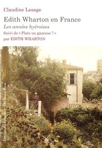 EDITH WHARTON EN FRANCE
