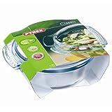 Pyrex Glass 1.5L Easy Grip Round Casserole Dish