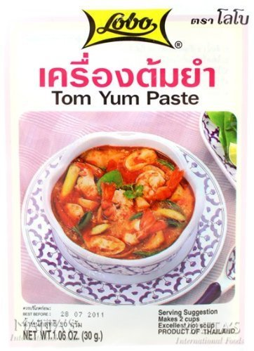 Lobo Tum Yum paste (Thai seasoning) 36 G. x 12 packages by Thailand [並行輸入品]