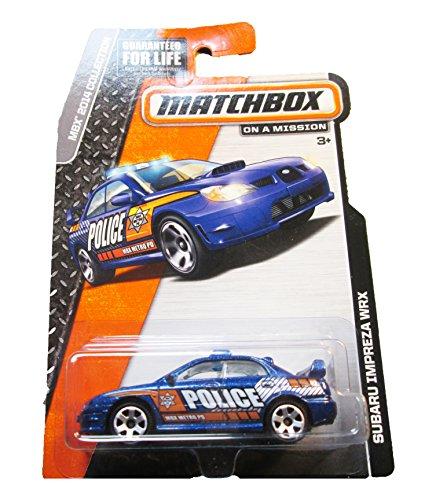 Matchbox - MBX 2014 Collection - Subaru Impreza WRX