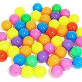 カラーボール50個入り 直径7cm ボールプール ボールハウス用