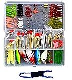 選べる ルアー アソート セット + ボトルリング ホルダー 練習用 釣り具 バスフィッシング 海釣り (119個)