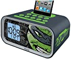 EKids TM-H22 Teenage Mutant Ninja Turtles Dual Alarm Clock Speaker System