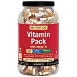 Fitness Labs Vitamin Pack with Omega-3s (90 Packets) (Tamaño: 90 Packets)