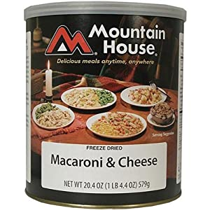 Mountain House Macaroni & Cheese #10 Can Freeze Dried Food - 6 Cans Per Case NEW! by Mountain House