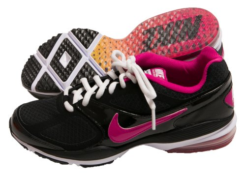 b9958f3a8c4236 Nike Womens Air Max Prosper Running Shoes 508637 061 Black Pink size ...