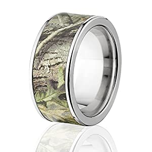 Branded AP Green Realtree Camo Rings, Camo Bands