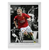 Paul Scholes signed Manchester United photo - Old Trafford Hero