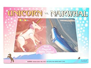 Unicorn vs. Narwhal Play Set