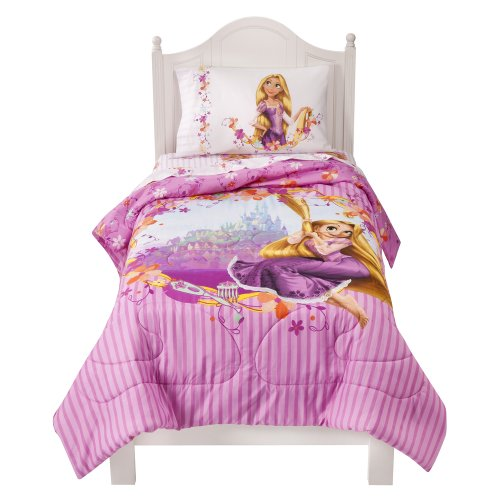Disney Tangled Comforter - Pink (Twin)