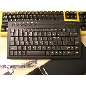 Compact Black keyboard W9829BKUP