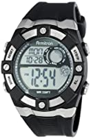 Armitron Men's 408172BLK Sport Chronograph Black Strap Digital Display Watch by Armitron