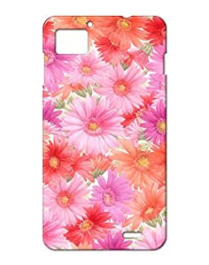 Pick Pattern Back Cover for Lenovo K860