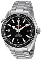 Omega Men's 232.30.42.21.01.001 Seamaster Planet Ocean Black Dial Watch from Omega